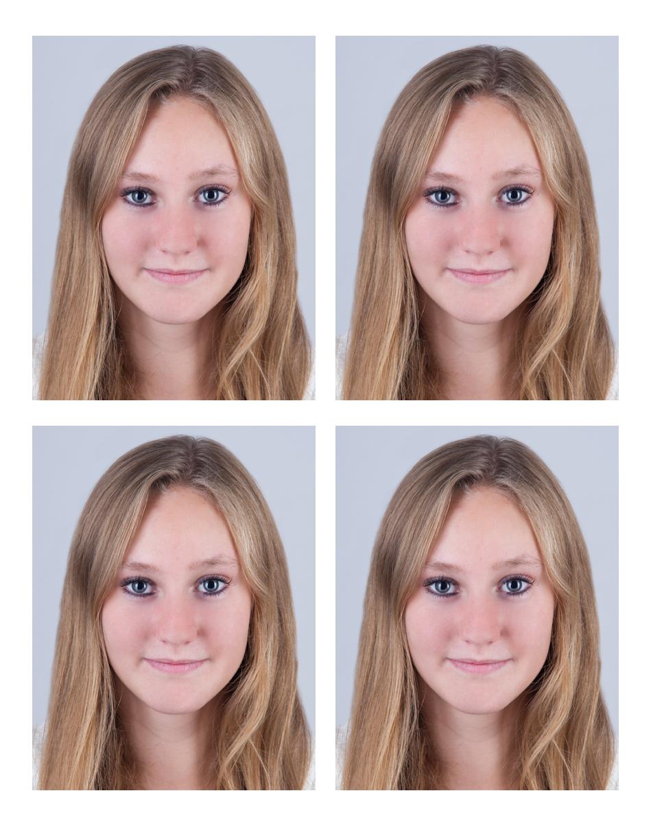 Passbilder fotografiert von Fotostudio Witten - Kristina Bruns