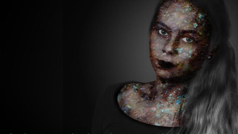 Entfremdetes Portrait Julia von Fotostudio Witten - Kristina Bruns