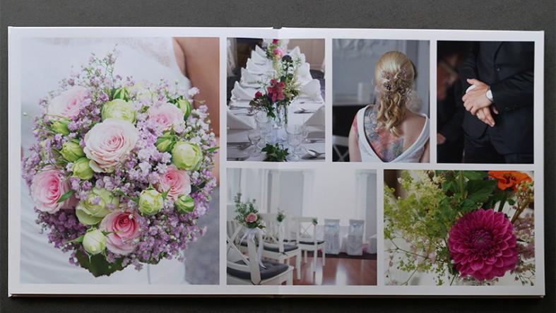 Fotobuchtest Saal Digital mit Hochzeitsbildern fotografiert von Fotostudio Witten - Kristina Bruns