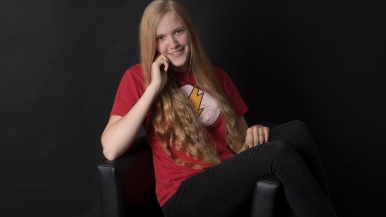 Mein Erstes Portrait von Praktikantin Svenja- Portrait/Paar fotografiert von Fotostudio Witten - Kristina Bruns