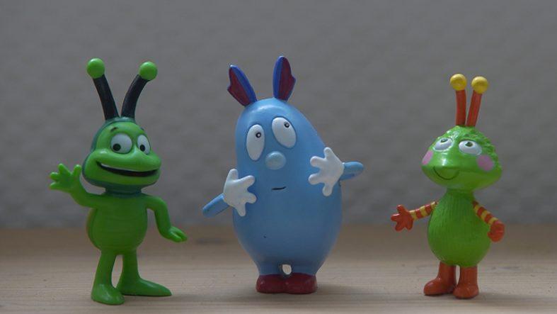 Die drei im Studio