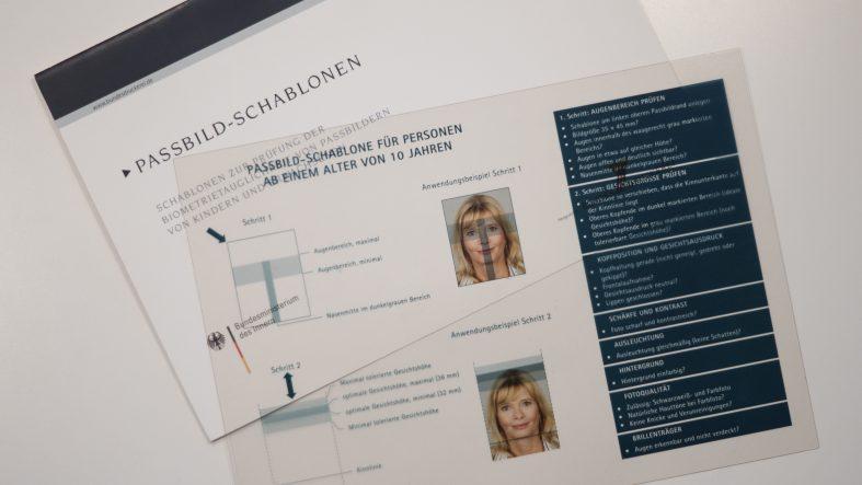 biometrische Passbilder Kristina Bruns - Fotografin mit Fotostudio in Witten